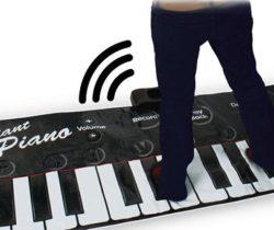 Gigantic Piano Mat feet