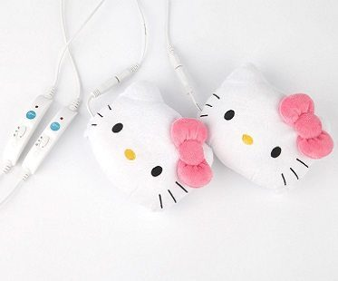 Hello Kitty USB Hand Warmers controls