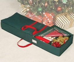 Holiday Gift Wrap Organizer