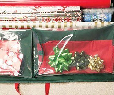 Holiday Gift Wrap Organizer pocket