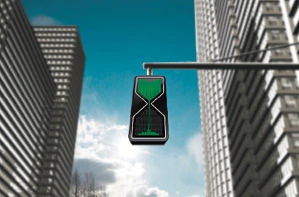 Hour Glass LED Traffic Lights 1