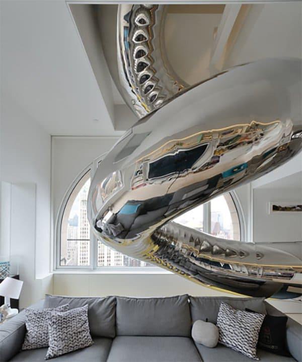 Indoor Stainless Steel slide