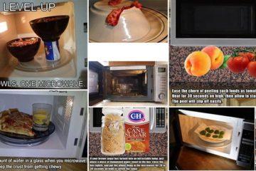 Microwave life hacks