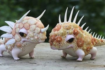 Miniature Porcelain Creatures