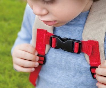 Monkey Backpack And Safety Harness front clip