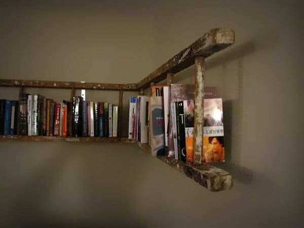 Old Ladder Into Bookshelf2