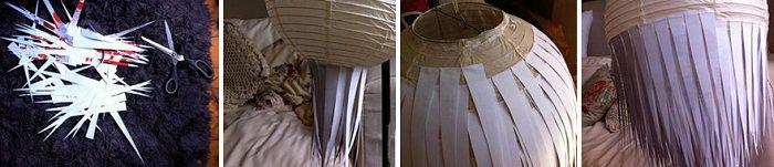 Paper Starburst Pendant Light 1