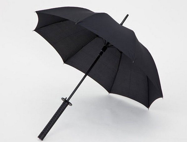 Samurai Umbrella open