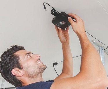 Smartphone Garage Door Remote install