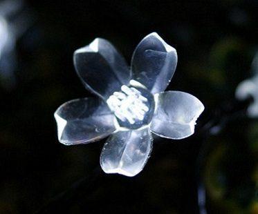 Solar Powered String Lights flower