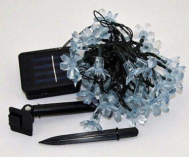 Solar Powered String Lights kit