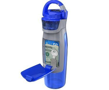 Storage Compartment Water Bottle