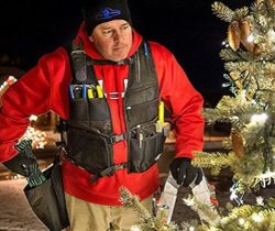 Tactical Christmas Light Vest