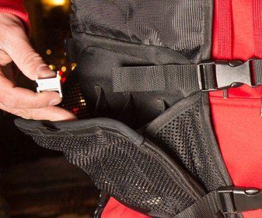 Tactical Christmas Light Vest close