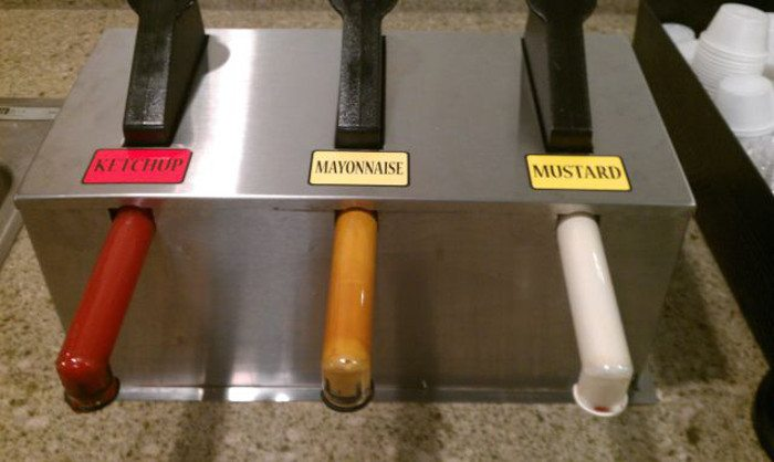 The guy who at least got one condiment right