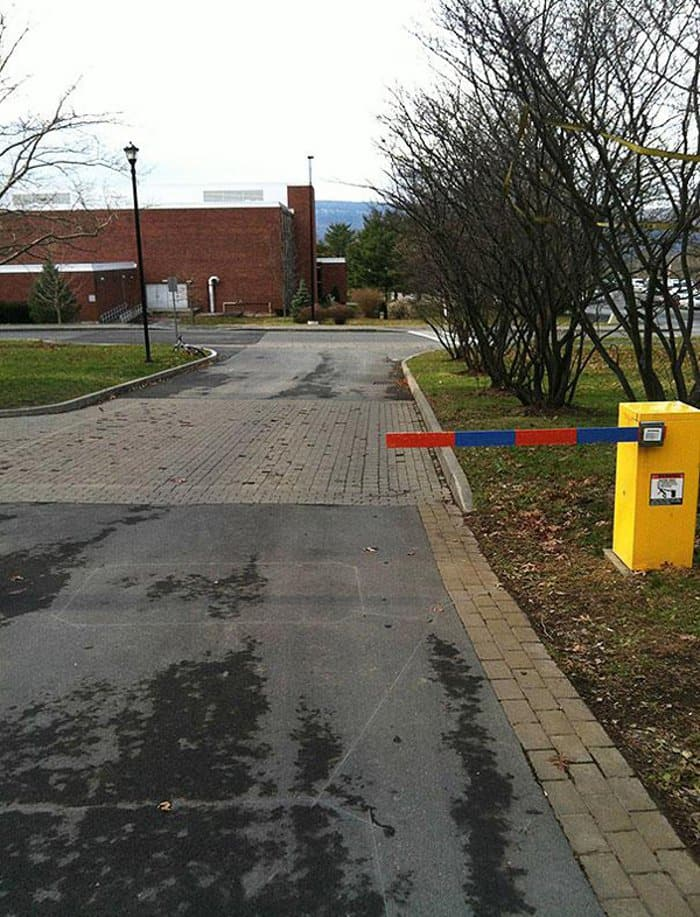 The guy who thought this would fix the parking lot problem