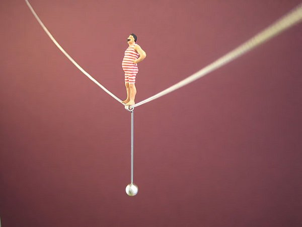 Tightrope Walk Necklace