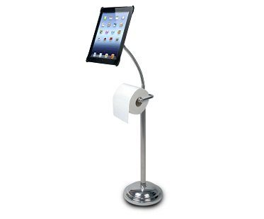 Toilet Roll Holder iPad Stand