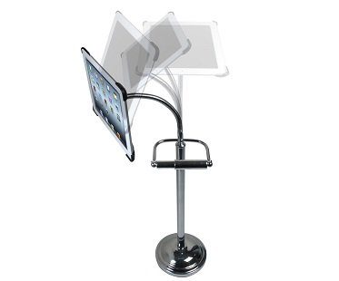 Toilet Roll Holder iPad Stand movable