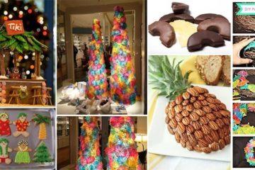 Tropical christmas ideas