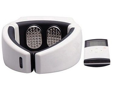 Wireless Remote Control Neck Massager back