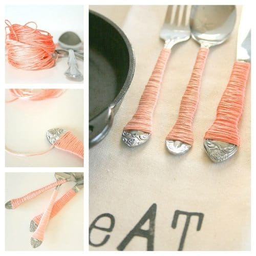 17 Creative Ways To Reuse Kitchen Cutlery