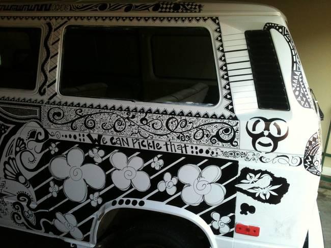 White Vans Drawings Amazing-white-van-drawings