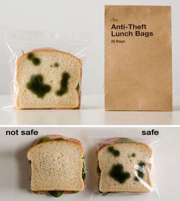 anti theft lunch bags