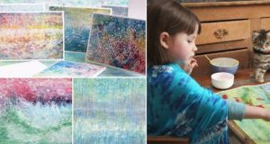autistic girl paintings