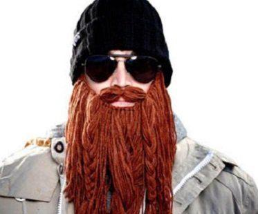barbarian beard hat beanie