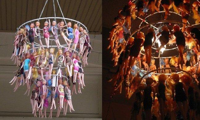 barbie-chandelier