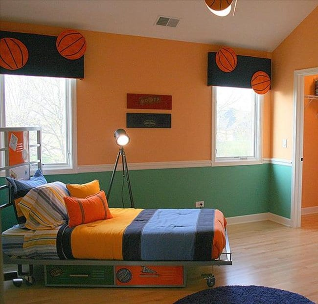 22 awesome themed bedrooms that every kid would love 14 awesome basketball themed rooms for your youngsters