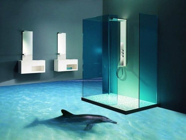 bathroom-dolphin