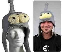 bender knitted hat