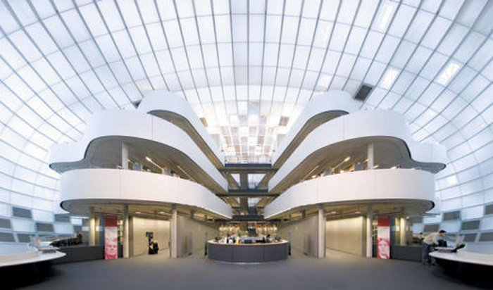 berlin library interior
