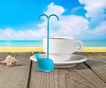 blue whale tea infuser handle