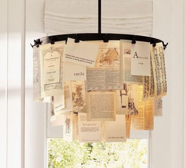 book-chandelier