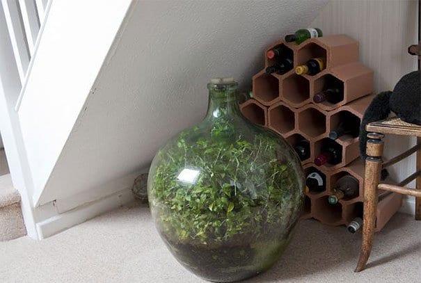 bottle-garden-stairs