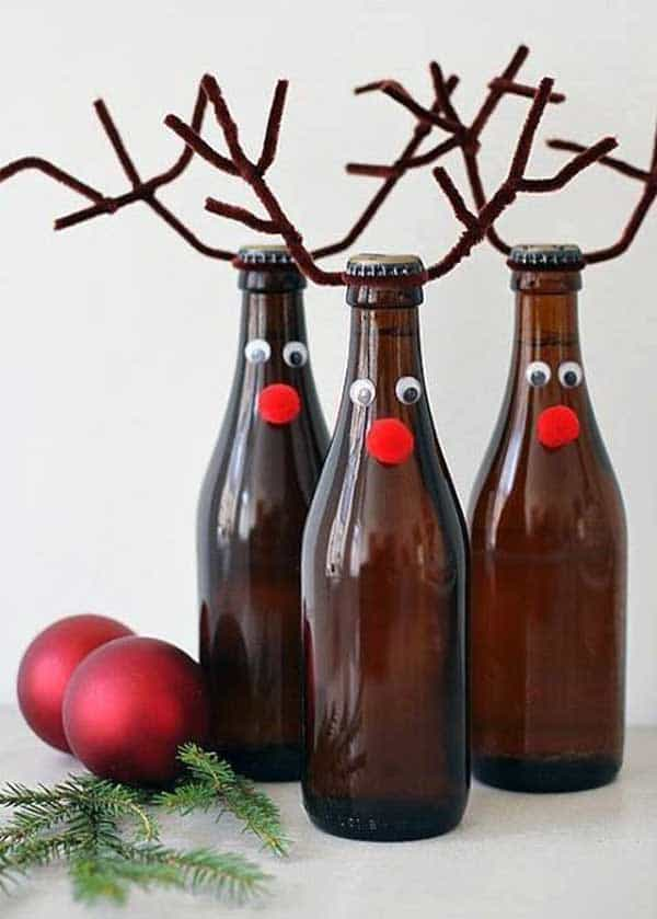 bottle-reindeer