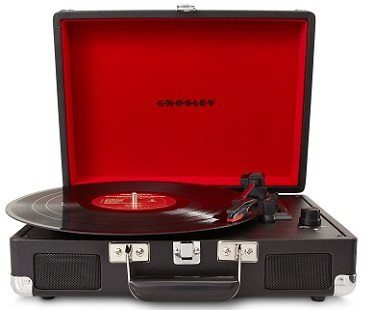 briefcase record player