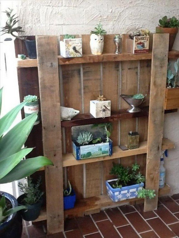 Diy Pallet Projects Wall Shelves