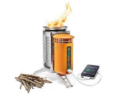 campstove with usb
