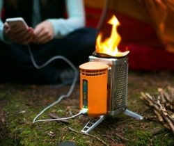 campstove with usb charger
