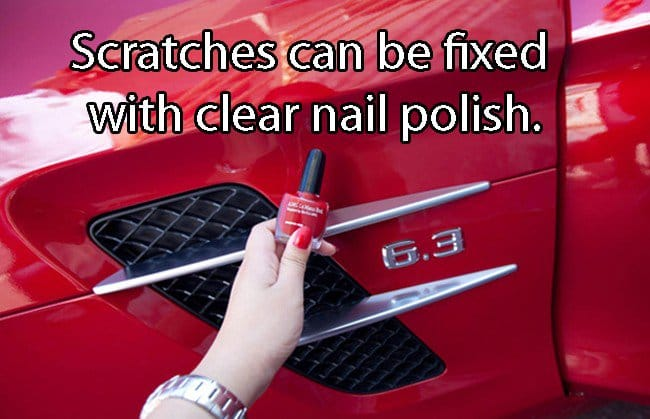 how to get rid of scratches on vehicle