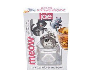 cat and fish tea infuser box