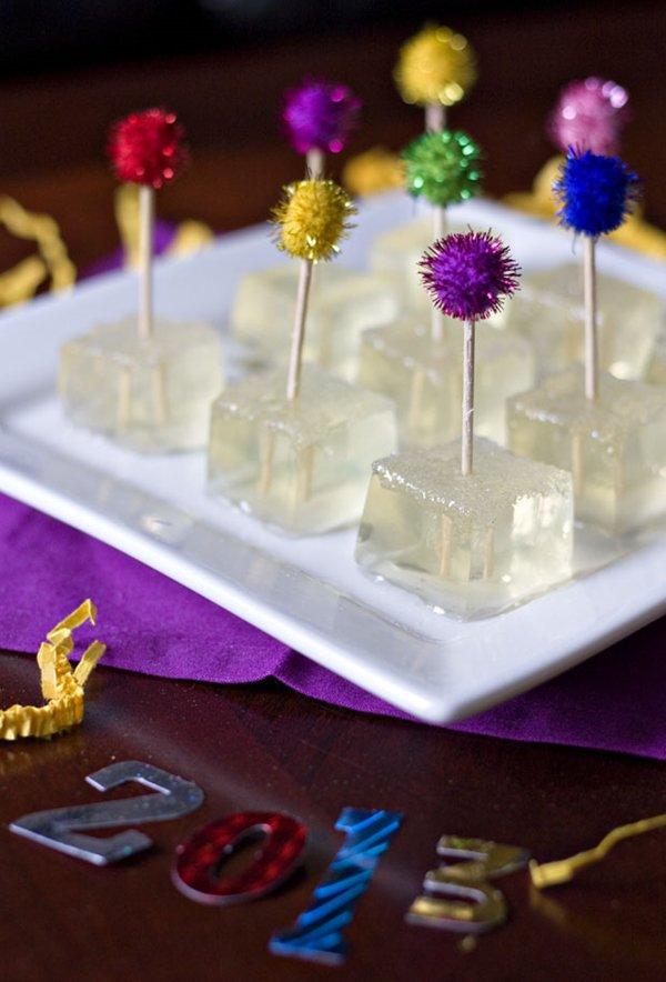 champagne-jello-shots