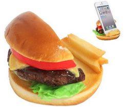 cheese burger phone stand