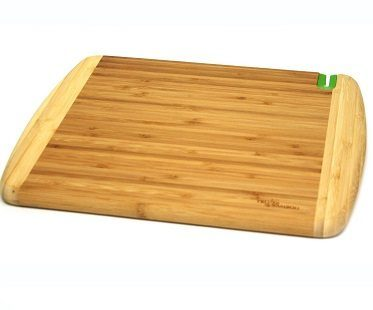chopping board with knife bamboo