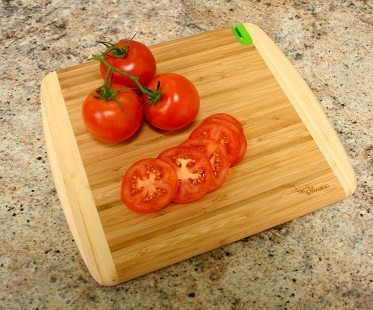 chopping board with knife sharpener
