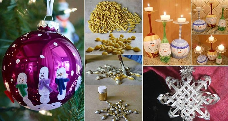 16 Christmas Crafts Kids Will Love  Part 1